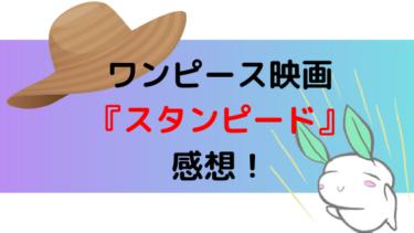 面白い!ワンピース映画『スタンピード』のネタバレ感想!
