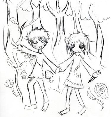 改変童話-復讐者ヘンゼルとグレーテル-