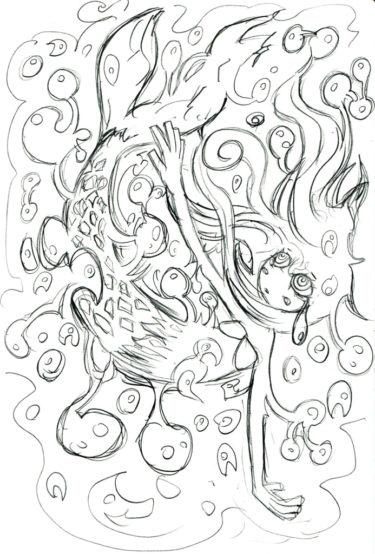 本当は怖い人魚姫の簡単なあらすじ!ディズニーとは違う悲しいお話