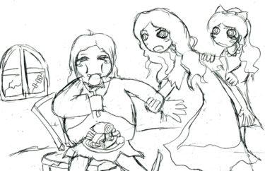 改変童話-太っちょシンデレラの恋(前編)~パーティへ参加するために~-