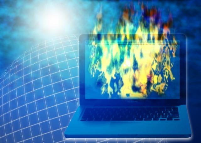 ネットの炎上